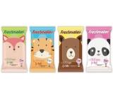 Freshmaker Kids Zvieratká vlhčené kozmetické obrúsky 15 kusov
