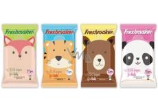 Freshmaker vlhčené kozmetické obrúsky 15ks Zvieratá 1019