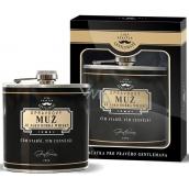 Nekupto Liga Pravých Džentlmenov Placátka Naozajstný muž je ako dobrá whisky. Čím starší, tým cennejšie 150 ml