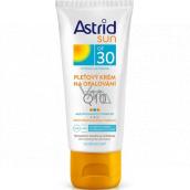 Astrid Sun OF30 pleťový krém na opaľovanie s koenzýmom Q10 50 ml