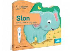 Albi Kúzelné čítania interaktívnej minikniha s výsekom Slon, vek 2+