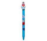 Colorino Gumovatelné pero Disney Emoji svetlo modrej, modrá náplň 0,5 mm