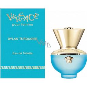Versace Dylan Turquoise toaletná voda pre ženy 5 ml, Miniatúra