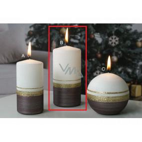 Lima Aróma línia sviečka karmínová valec 60 x 120 mm 1 kus