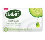 Dalan Multi Care Fresh Cucumber & Caring Milk toaletné mydlo 90 g