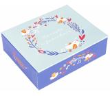 Albi Hracie krabička na peniaze Vtáčiky 11 x 9 x 3,5 cm