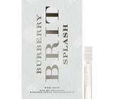 Burberry Brit Splash for Him toaletná voda 2 ml s rozprašovačom, vialky