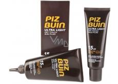 Piz Buin Ultra Light SPF15 Fluid na opaľovanie 150 ml + SPF15 Fluid na opaľovanie pleti 50 ml