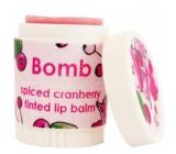 Bomb Cosmetics Pikantní brusinka - Spiced Cranberry Balzám na rty 9 ml