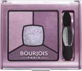 Bourjois Smoky Stories Quad Eyeshadow Palette oční stíny 07 In Mauve Again 3,2 g