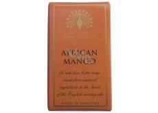 English Soap Africké Mango Přírodní parfémované mýdlo s bambuckým máslem 200 g