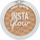 Miss Sporty Insta Glow Highlighter rozjasňovač 101 Golden Glow 5 g