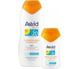 Astrid Sun mlieko na opal.OF20 200ml + mlieko OF10 1386