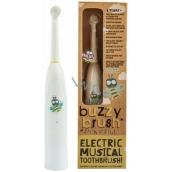 Jack N Jill Buzzy Brush extra soft elektrický zubní kartáček s melodií pro děti od 3 let