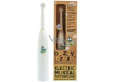 Jack N Jill BIO Buzzy Brush extra soft elektrická zubná kefka s melódiou pre deti od 3 rokov