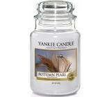 Yankee Candle Autumn Pearl - Jesenné perla vonná sviečka Classic veľká sklo 623 g