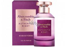 Abercrombie & Fitch Authentic Night Woman toaletná voda pre ženy 100 ml