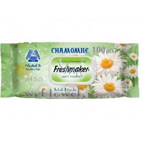 Freshmaker Chamomile - Harmanček vlhčené obrúsky 100 kusov