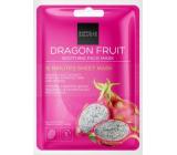 Gabriella salvy 15 Minutes Sheet Mask Dragon Fruit upokojujúce textilné pleťová maska 1 kus