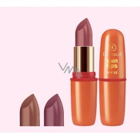 Dermacol Sun Lips SPF15 Sun shine rúž 01
