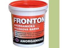 Fronton Anorganická prášková farba Zelená pre vonkajšie a vnútorné použitie 800 g