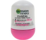 Garnier Mineral Invisible Black & White 48hkuličkový antiperspirant deodorant roll-on pro ženy 50 ml