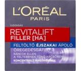 Loreal Paris Revitalift Filler HA vypĺňajúci nočný krém proti starnutiu 50 ml