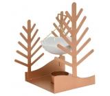 Yankee Candle Winter Village aromalampa strom 21 x 12 x 18 cm