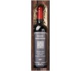 Bohemia Gifts & Cosmetics Merlot Krásne narodeniny červenej darčekovej víno 750 ml