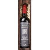 Bohemia Gifts Merlot Krásne narodeniny červenej darčekovej víno 750 ml