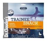 Dr. Clauders Trainee Snack Kachní sušené kostičky maso doplňkové krmivo pro psy 100% masa 5 x 100 g