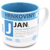 Nekupto Hrnkoviny Hrnček s menom Jan 0,4 litra