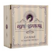 Bohemia Gifts & Cosmetics První republika Levandule s extraktem z bylin a glycerinem ručně vyráběné jemné toaletní mýdlo pro ženy 140 g