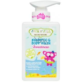 Jack N'Jill Sweetness šampón a sprch.gel 300ml 0022