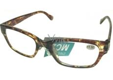 Berkeley Čítacie dioprtické okuliare +1,5 plast Tigrova žíhané 1 kus ER4198