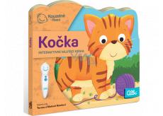 Albi Kúzelné čítania interaktívnej minikniha s výsekom Mačka, vek 2+