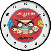 Epee Merch Friends Priatelia Nástenné hodiny Chiba 24,5 x 24,5 cm