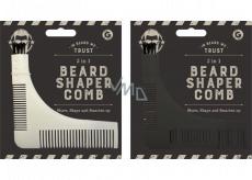 By My Beard Beard Shaper Comb hrebeň na fúzy 3v1