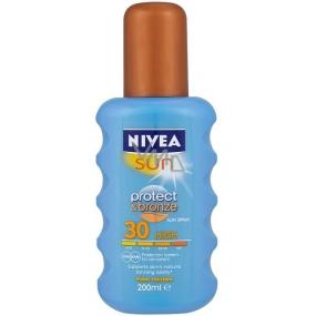 Nivea Sun Protect & Bronze SPF30 + intenzívny sprej na opaľovanie High 200 ml