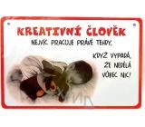 Nekupto Humor po Česku humorná ceduľka 15 x 10 cm 1 kus