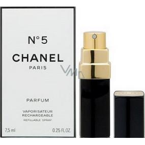 Chanel No.5 parfum s rozprašovačom pre ženy 7,5 ml
