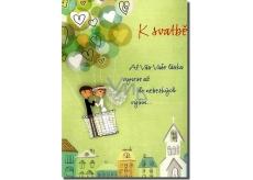 Albi Hracie prianie do obálky K svadbe Ešte že ťa lásko mám Petr Kolář 14,8 x 21 cm