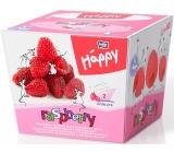 Bella Happy Baby Raspberry hygienické kapesníky 2 vrstvé 80 kusů