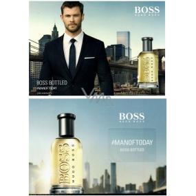 Hugo Boss Boss Bottled vzorek vůně na kartičce