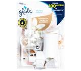 Glade Electric Scented Oil Romantic Vanilla Blossom elektrický osviežovač vzduchu strojček s tekutou náplňou 20 ml