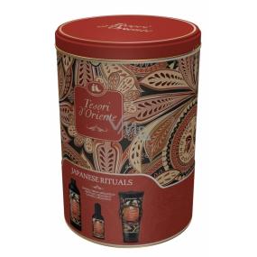 Tesoro d Oriente Japanese Rituals toaletná voda 100 ml + sprchový gél 250 ml + kúpeľová pena 500 ml, pre ženy darčeková sada