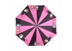 Albi Original Dáždnik skladací Mačka 25 cm x 6 cm x 5 cm