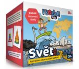 Albi V kocke! Plus Svet pätnásťminútová hra na precvičenie pamäti a vedomostí odporúčaný vek 8+