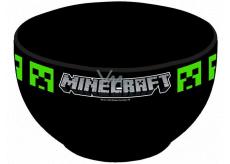 Epee Merch Minecraft - Creeper Miska keramická čierna 600 ml