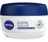 Nivea Visage Pure & Natural noční regenerační krém pro všechny typy pleti 50 ml